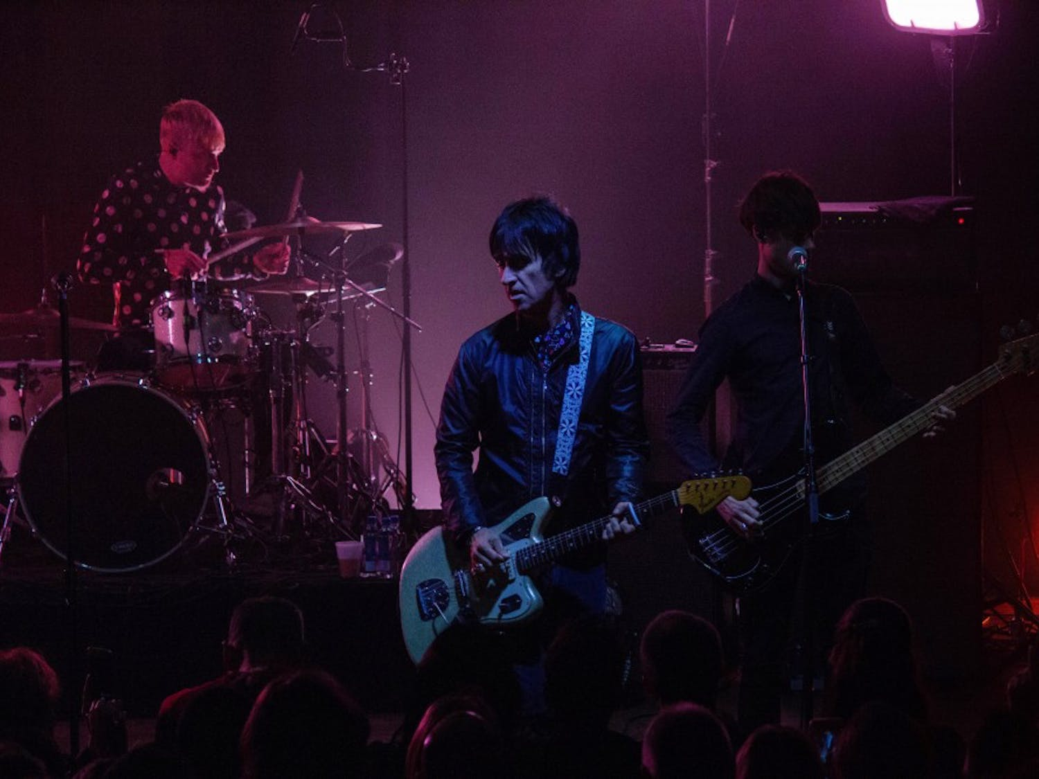 """Johnny Marr held nothing back at the Town Ballroom on Saturday night. The legendary guitarist and Smiths founding member played both classic tracks like """"The Headmaster's Ritual"""" as well as newer cuts from """"Call the Comet."""""""