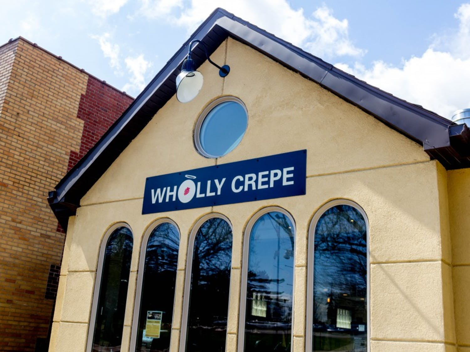 Wholly Crepe is a new restaurant on Main Street near South Campus. The creperie features a variety of sweet and savory crepes at student-friendly prices.
