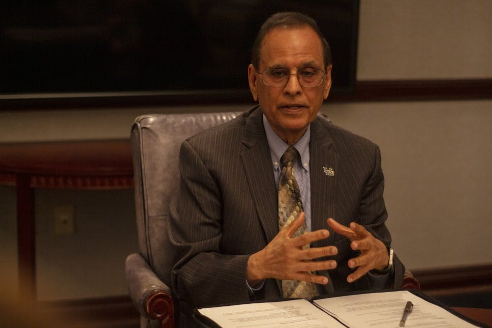 <p><em>The Spectrum</em> sat down with UB President Satish Tripathi on Monday to discuss fall 2021 campus COVID-19 protocols, the UB Foundation and improving faculty diversity&nbsp;</p>