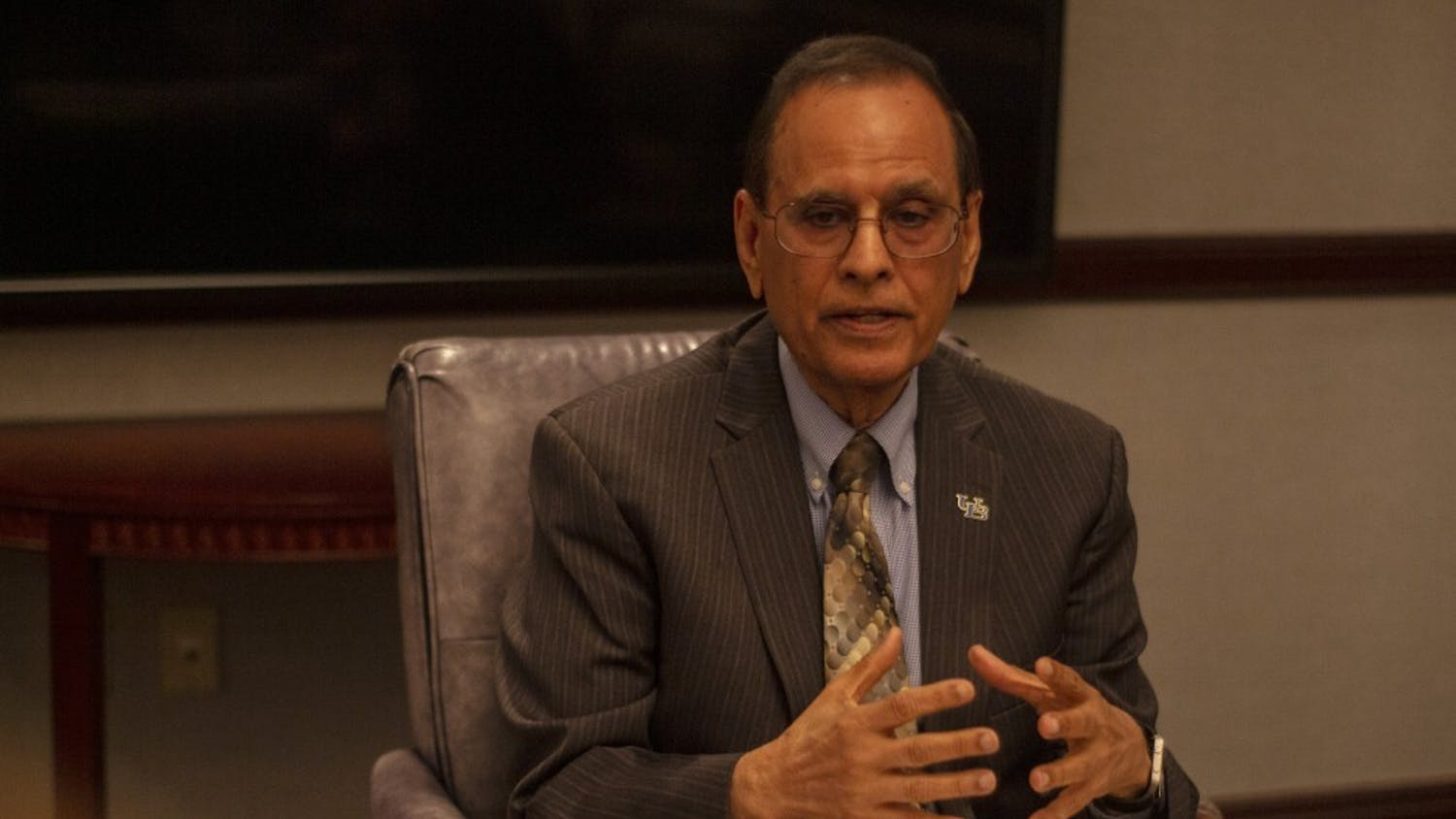 The Spectrum sat down with UB President Satish Tripathi on Monday to discuss fall 2021 campus COVID-19 protocols, the UB Foundation and improving faculty diversity