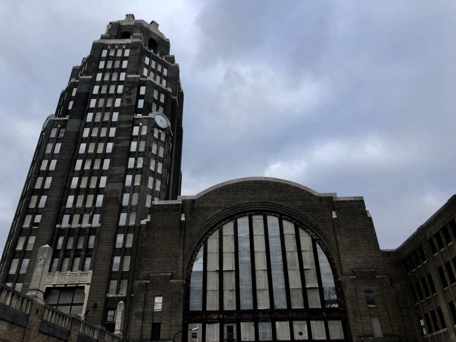 Buffalo's Grand Central Terminal, abandoned since 1979, has recently undergone efforts to restore the once-mighty train station. However, no amount of fixing-up can remove spirits from the station's hayday that still haunt the spacious halls.