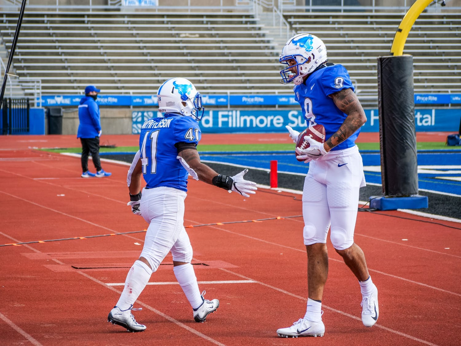 In a Nov. 28 blowout victory over Kent State, Patterson rewrote the NCAA Division I record book and thrust UB into the national spotlight.