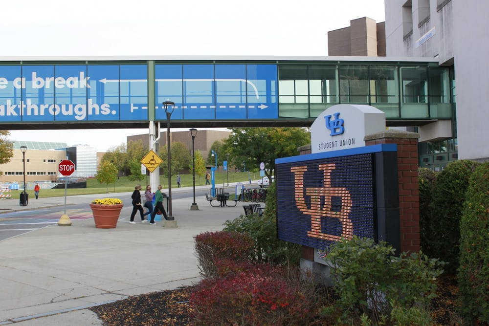 <p>UB will delay spring semester and cancel spring break in accordance with SUNY guidelines in an effort to slow the spread of COVID.</p>