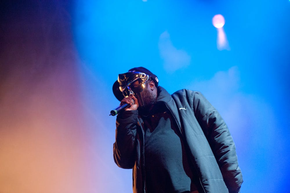 <p>MF DOOM essentially created audio comics, and was able to bring listeners into his world.</p>