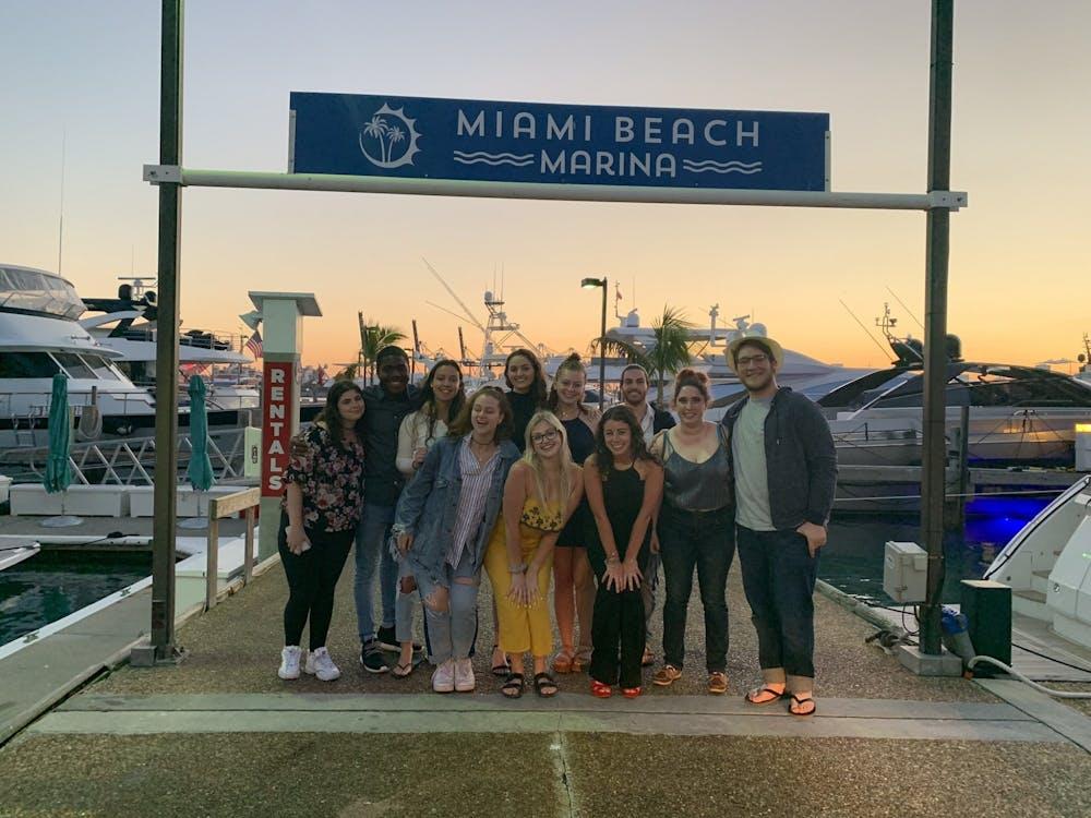 <p>UB students traveled to Miami on Alternative Spring Break through Hillel of Buffalo</p>
