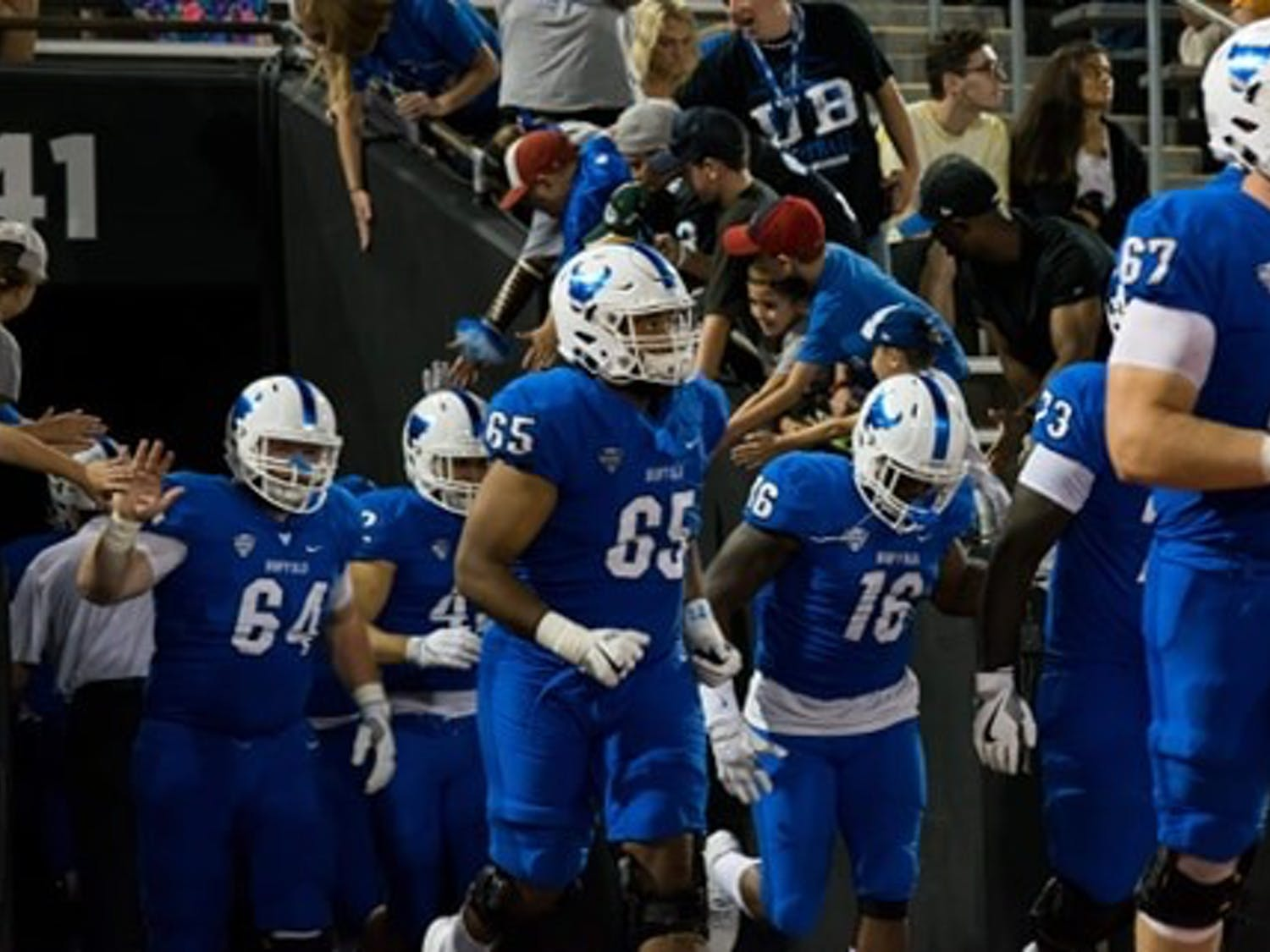 Former UB left guard Tomas Jack-Kurdyla was selected fourth overall in the 2020 CFL Draft. Jack-Kurdyla attributed to UB's ranking with 3,256 yards during his last season.