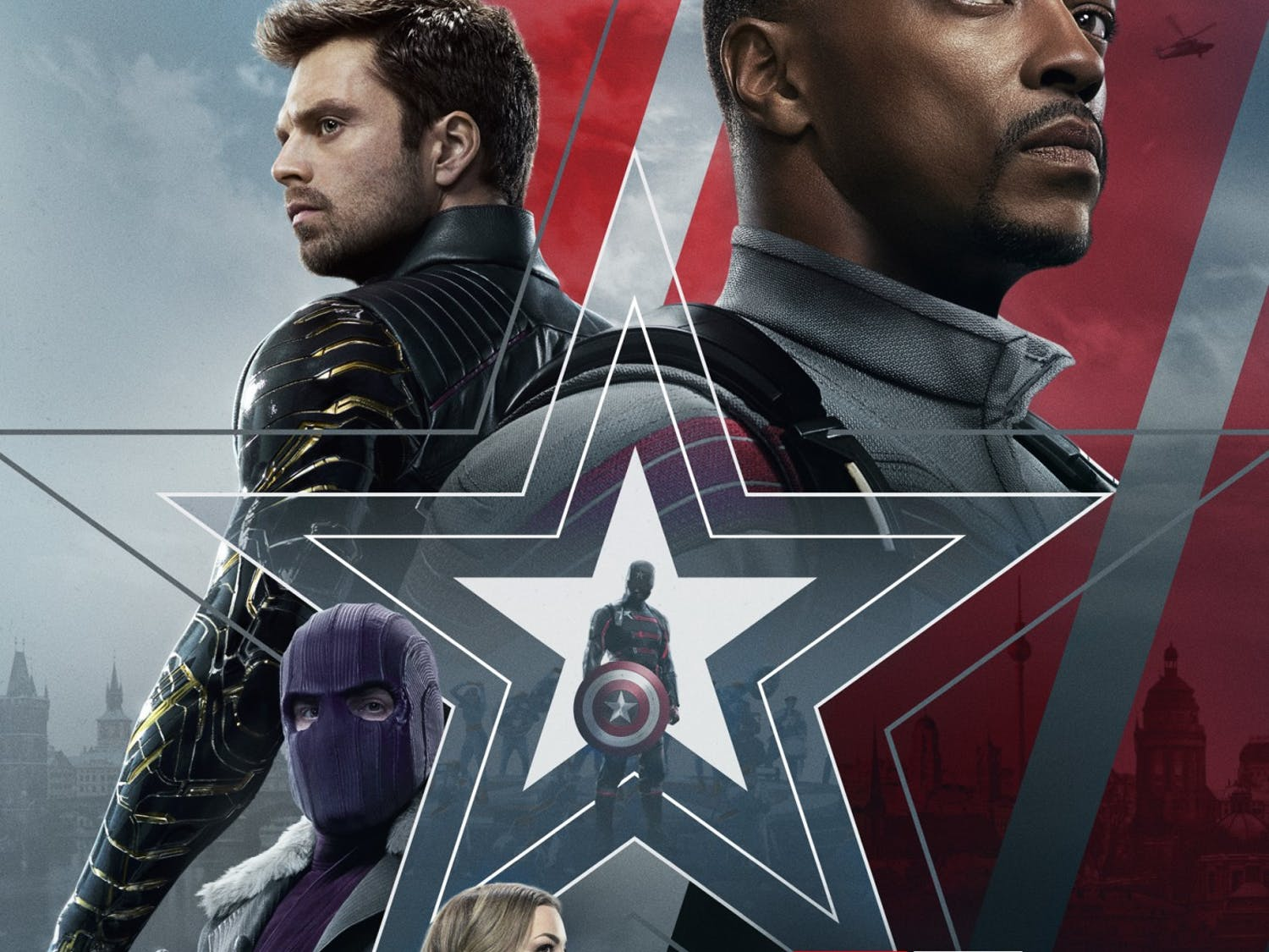 """With the season finale airing last Friday, """"The Falcon and the Winter Soldier,"""" Marvel's second Disney+ original series, represents a significant improvement over the previous series, """"Wandavision,"""" which was bogged down by long, monotonous scenes that felt more like novelty than substance."""