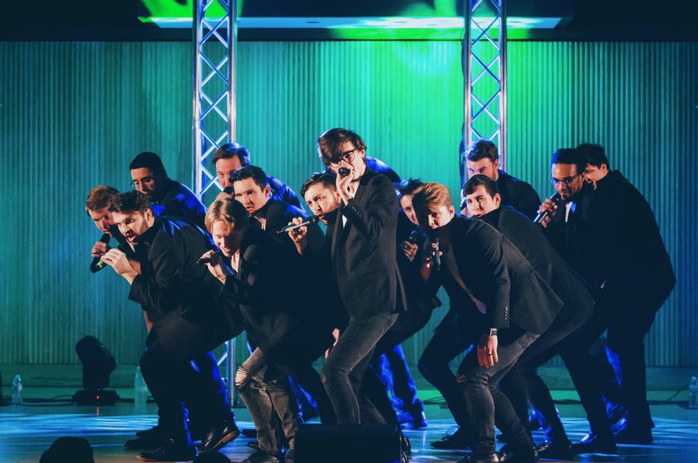 Two weeks ago, the Buffalo Chips won first place in the 2021 ICCA Central semifinals and earned awards for best arrangement, solo, vocal percussion and videography.
