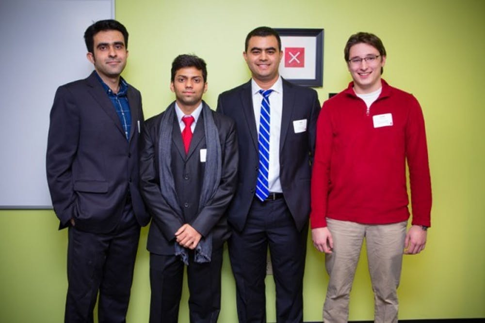 Mahmoud Kamal Ahmadi, Rohan Shah, Jorge Cueto and Joseph Peacock,