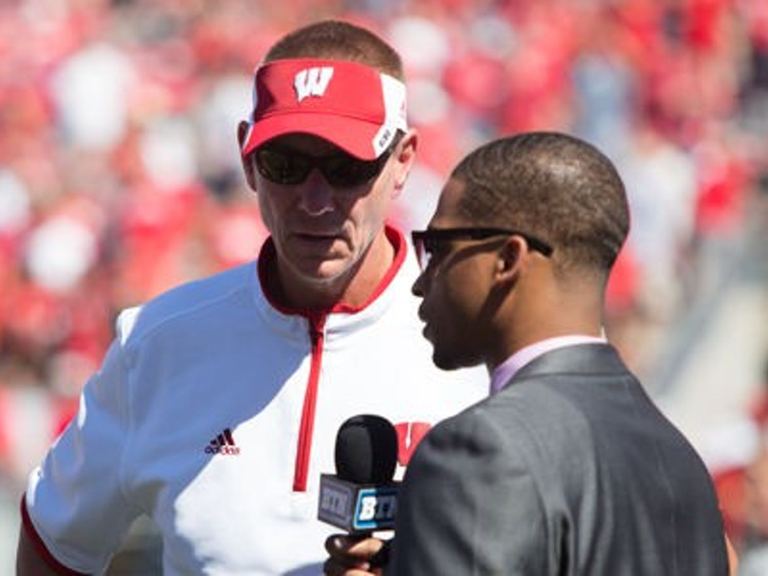 Head coach Gary Andersen has Wisconsin rolling after the Badgers dominated Bowling Green Saturday in a 68-17 blowout.