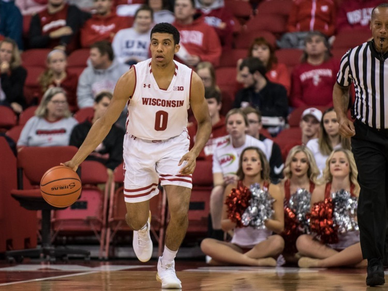D'Mitrik Trice played his best game of the season so far, recording 11 points, seven assists and a career-high eight rebounds en route to UW's 88-70 win.