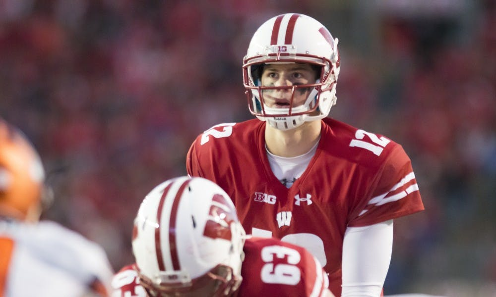 With senior Alex Hornibrook on his way out of the program, sophomore Jack Coan and freshman Graham Mertz are set to compete for Wisconsin's starting job.