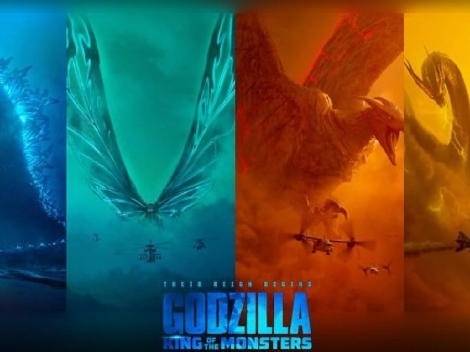 """Godzilla: King of the Monsters"" pits Godzilla against King Ghidorah, Rodan and Mothra, exciting many sci-fi/fantasy fans."