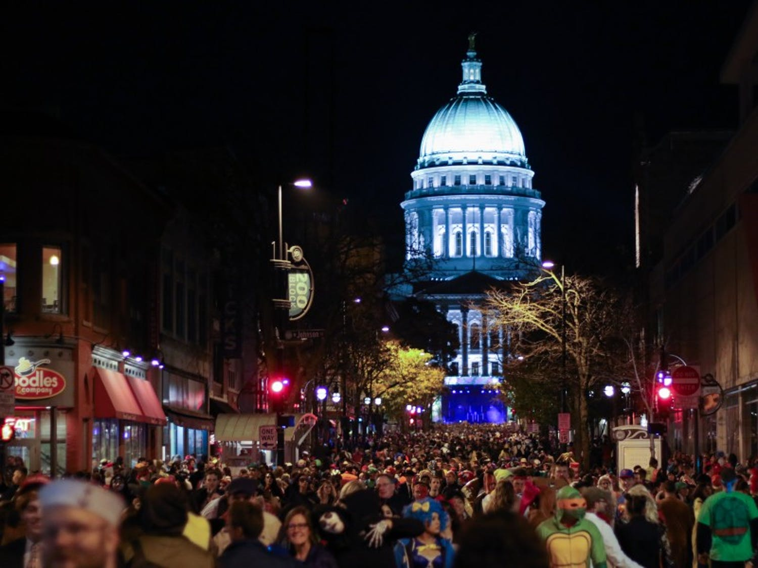 Freakfest's low attendance contributed to a relatively calm weekend for Madison police, who reported only 12 arrests at the event.