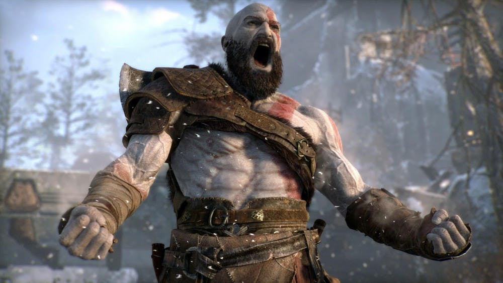 """""""God of War"""" is out now for PlayStation 4."""