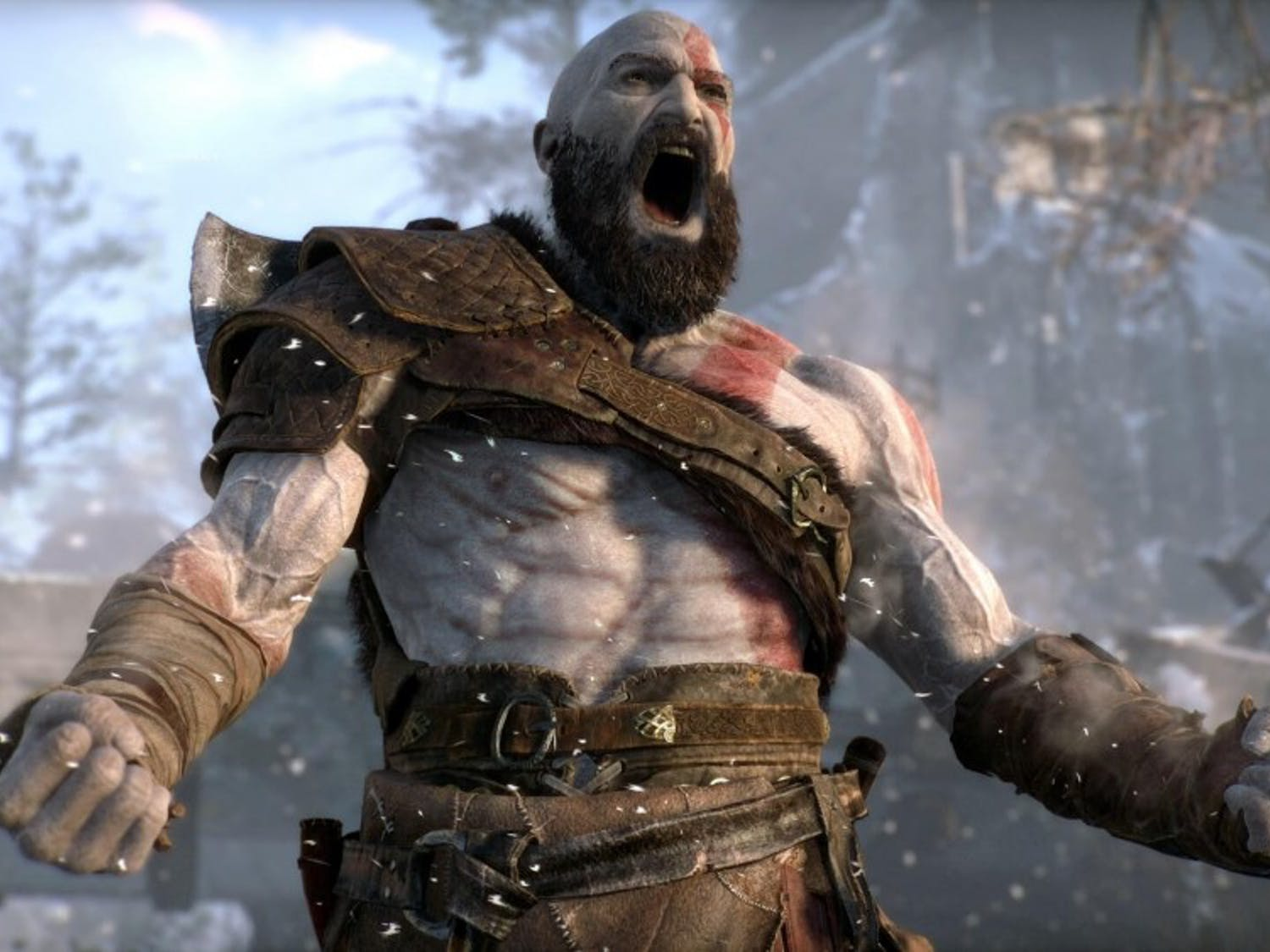 """God of War"" is out now for PlayStation 4."