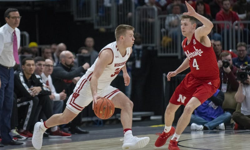 Sophomore guard Brad Davison hit several key free throws down the stretch to ice the game as Wisconsin won a nail-biter Friday against Nebraska.
