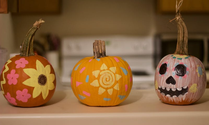 Take a break from your 10-hour stint at the library and carve out some time for Halloween and fall activities.
