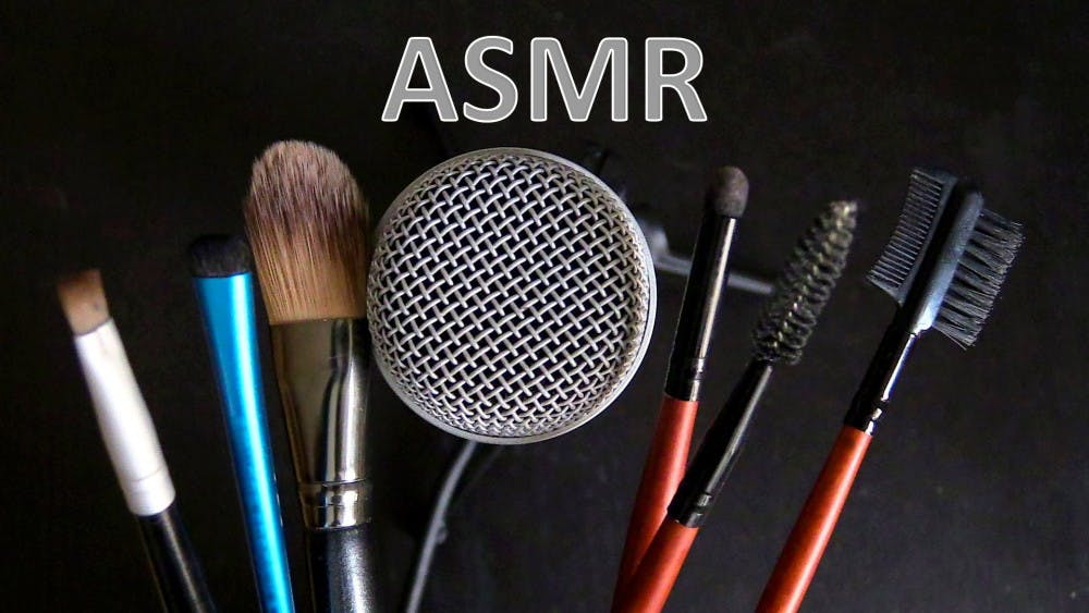 ASMR YouTube videos feature everyday things like brushes, boxes and gum-chewing to relax their viewers. Photo by YouTube channel Olinya.