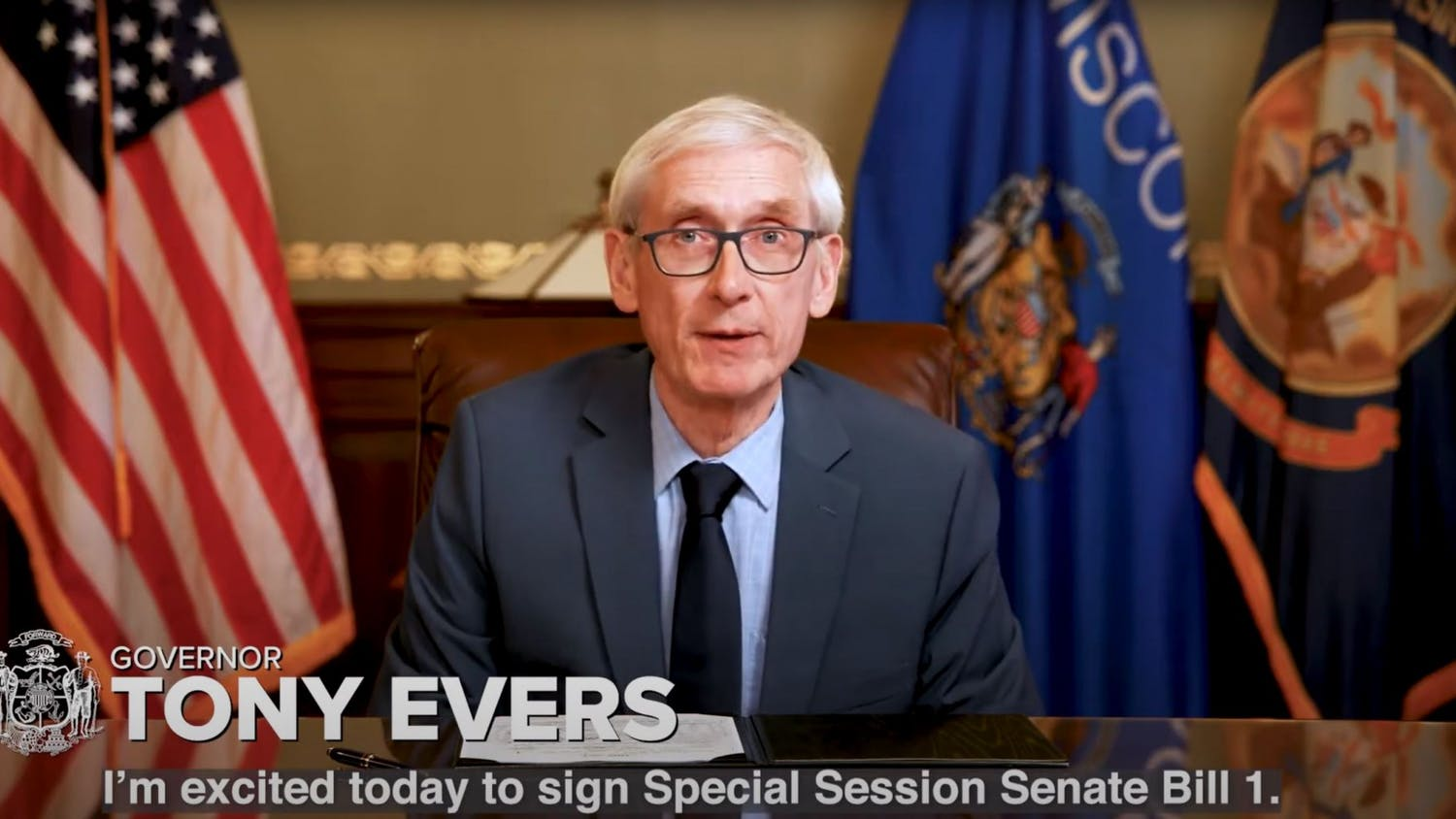 "Evers said the bill was a ""step in the right direction"" but said it was ""unfortunate"" that the legislature did not include funding. His biennial budget includes $79.5 million to upgrade the IT systems."