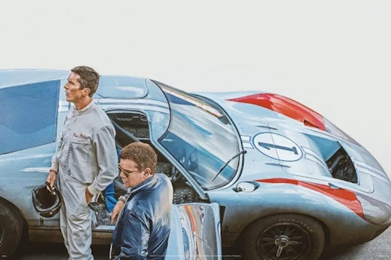 """The James Mangold directed """"Ford v Ferrari,"""" starring Matt Damon and Christian Bale, is a heartwarming and entertaining film that everyone will enjoy."""