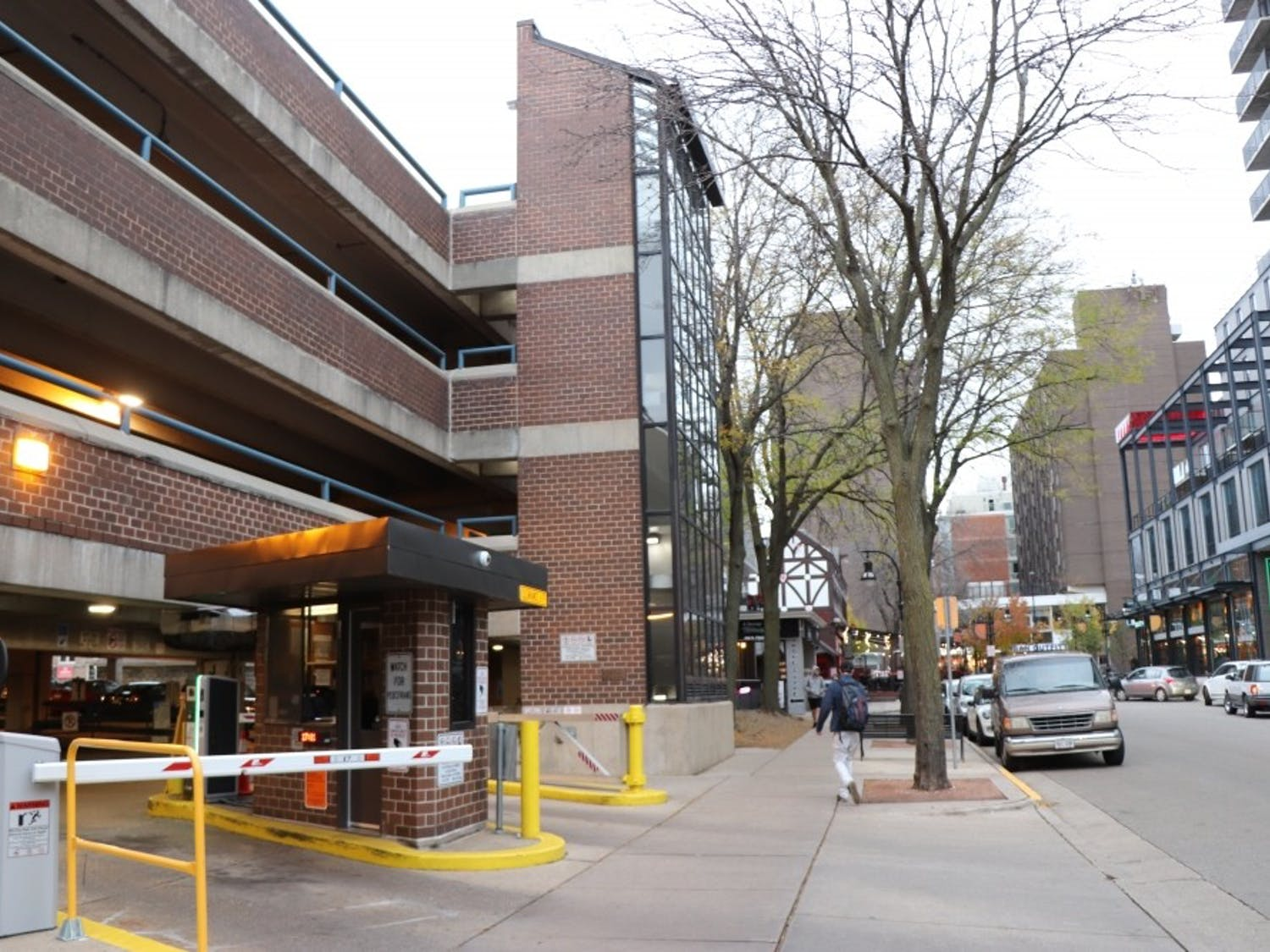 A Madison woman was arrested Monday for shooting and killing a man in a State Street parking ramp over the weekend.