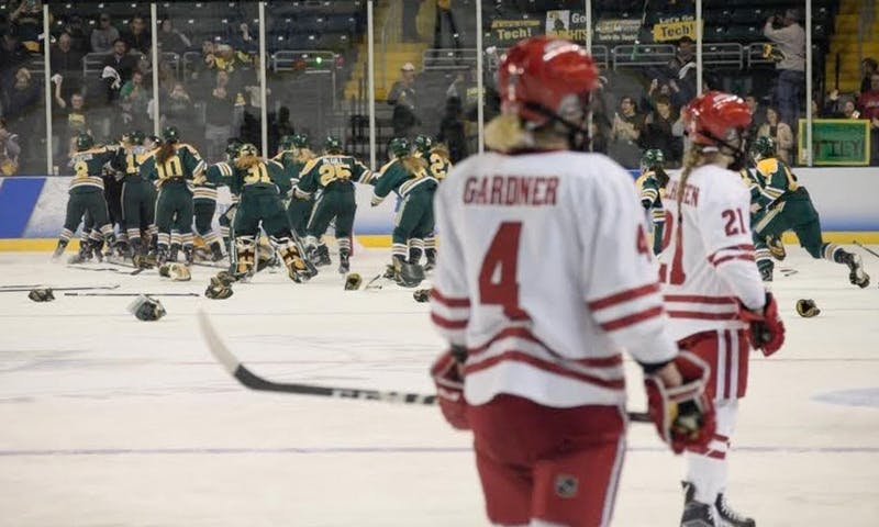 Last time Wisconsin faced Clarkson, the Badgers lost 3-0 in the national championship game. They're looking to take confidence from that loss into Friday's Frozen Four rematch.