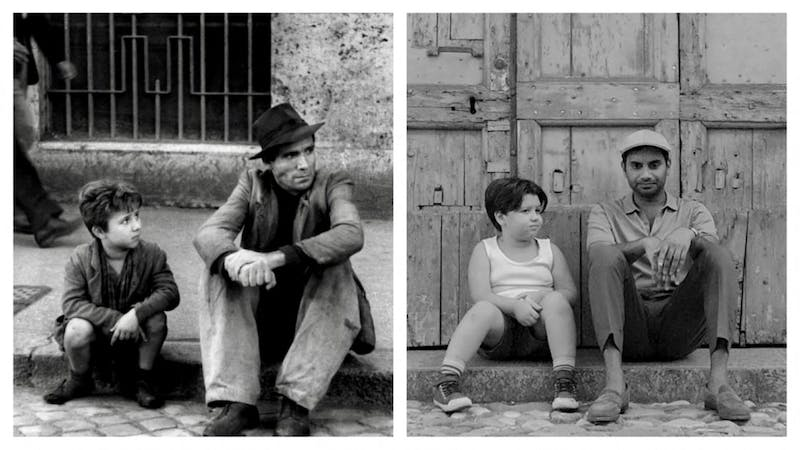 "The classic '40s film ""Bicycle Thieves"" has influenced various works within modern entertainment such as ""Master of None."""