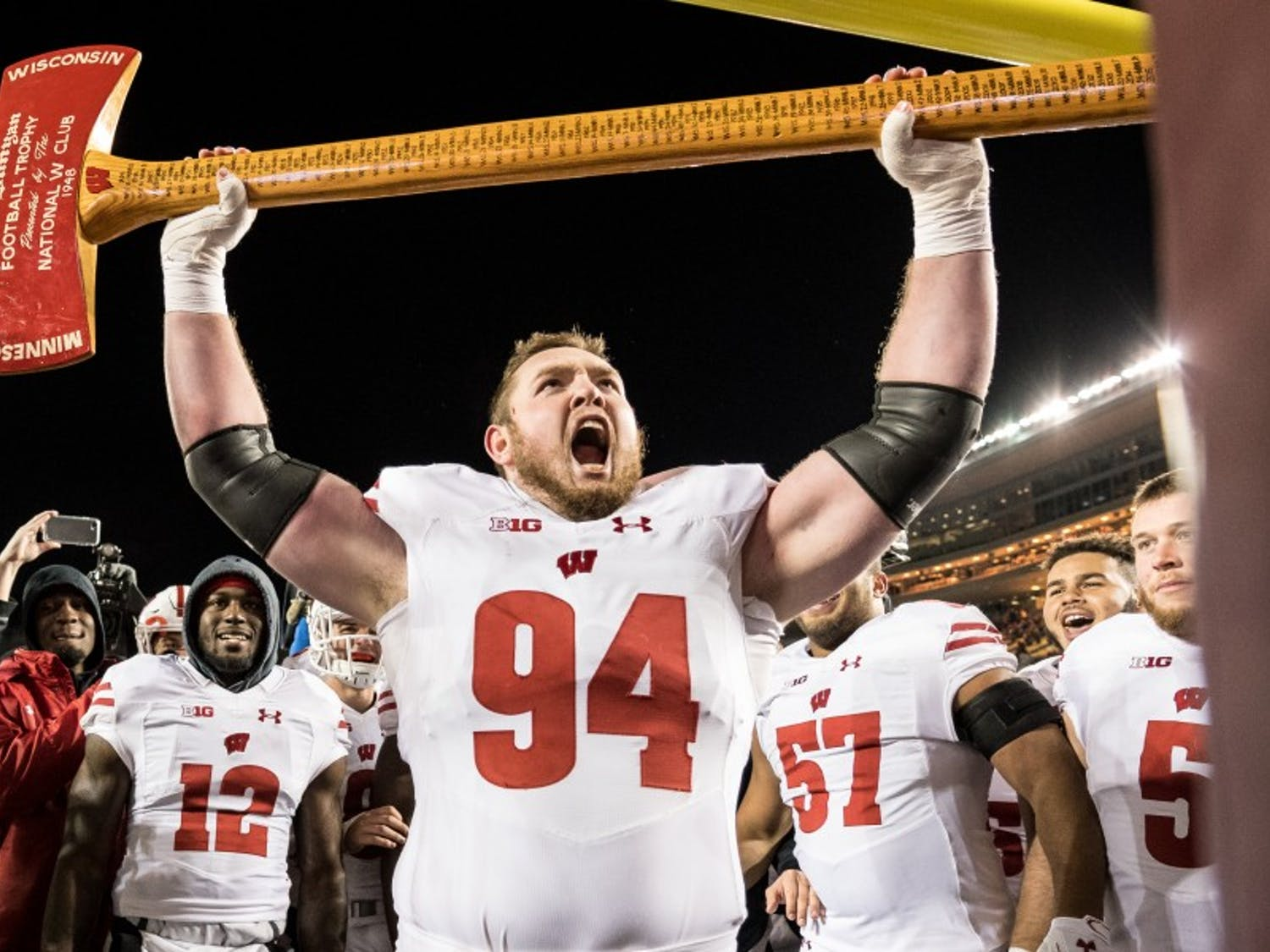 Wisconsin's defense was a key reason for its undefeated regular season.