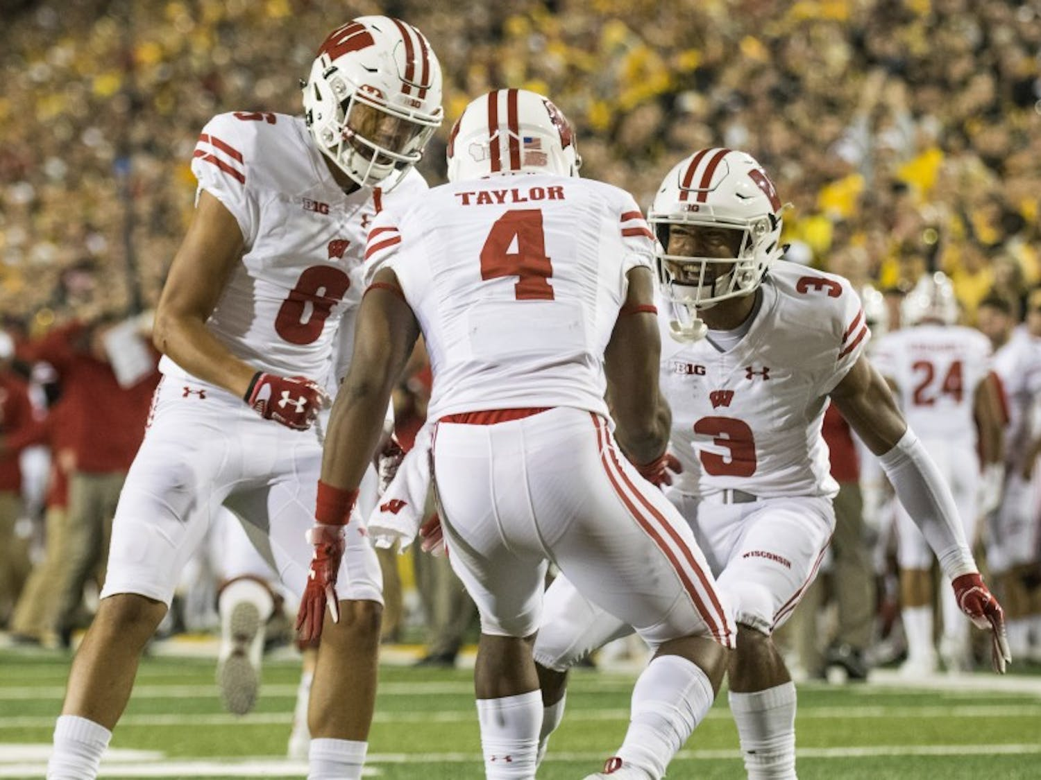 A.J. Taylor, Quintez Cephus, Danny Davis and Kendric Pryor make up one of the most talented receiving groups the Badgers have seen in years, and round out the offense around star running back Jonathan Taylor.