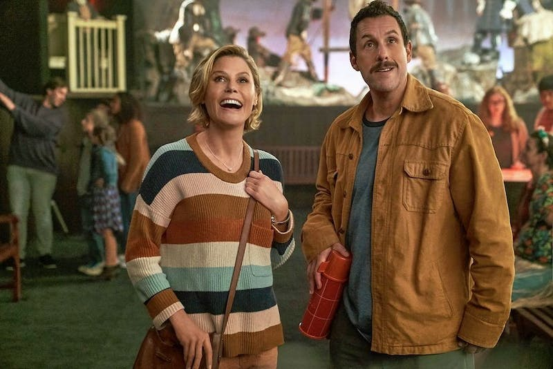 Julie Bowen and Adam Sandler team up for new Happy Madison Productions spooky comedy.