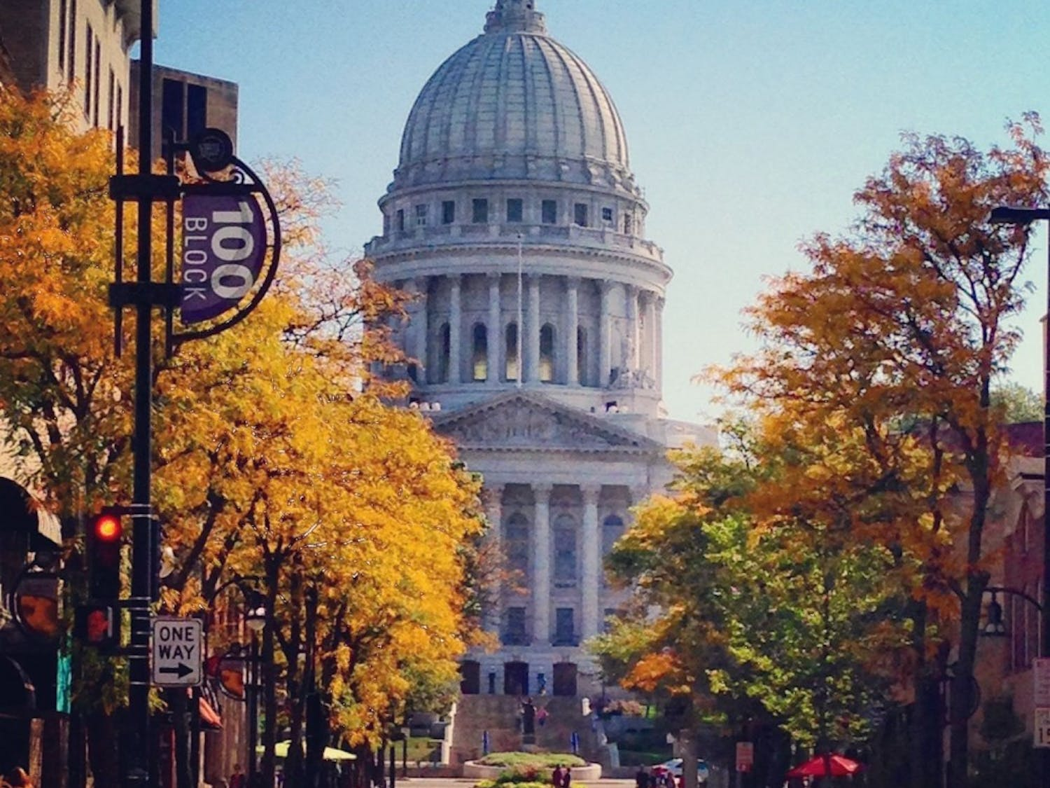 Fall in Madison