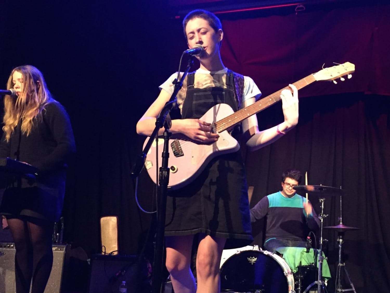 Frankie Cosmos' High Noon Saloon performance on Sunday promoted affirmation and kindness, creating a sense of happiness and community among the crowd.