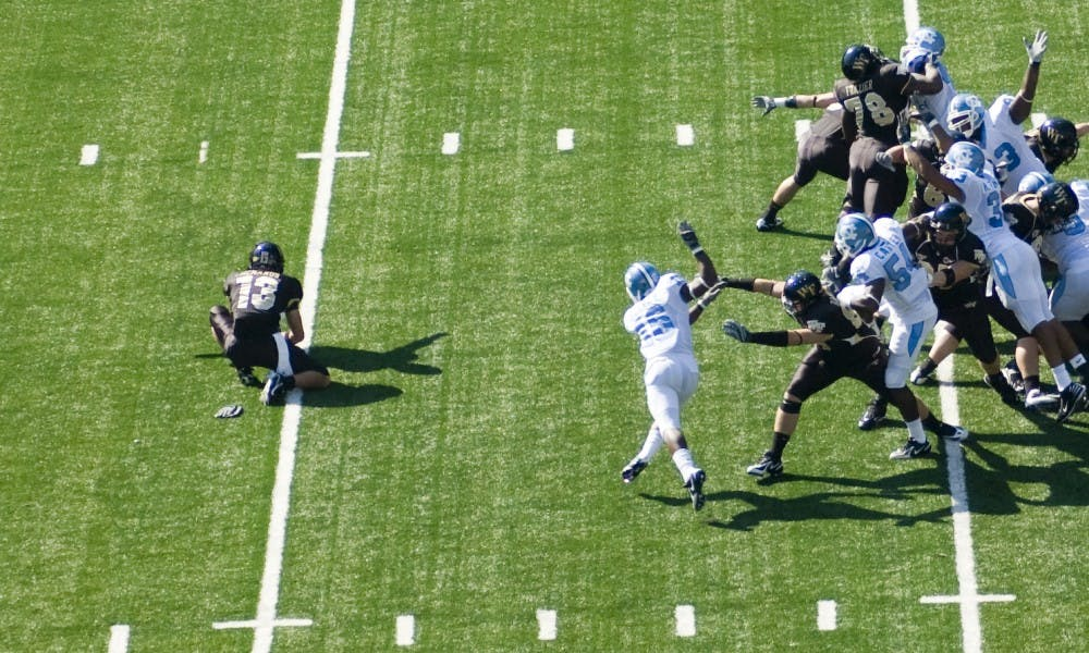 Wake Forest got (almost) everything right on their first kick of the day against Notre Dame.