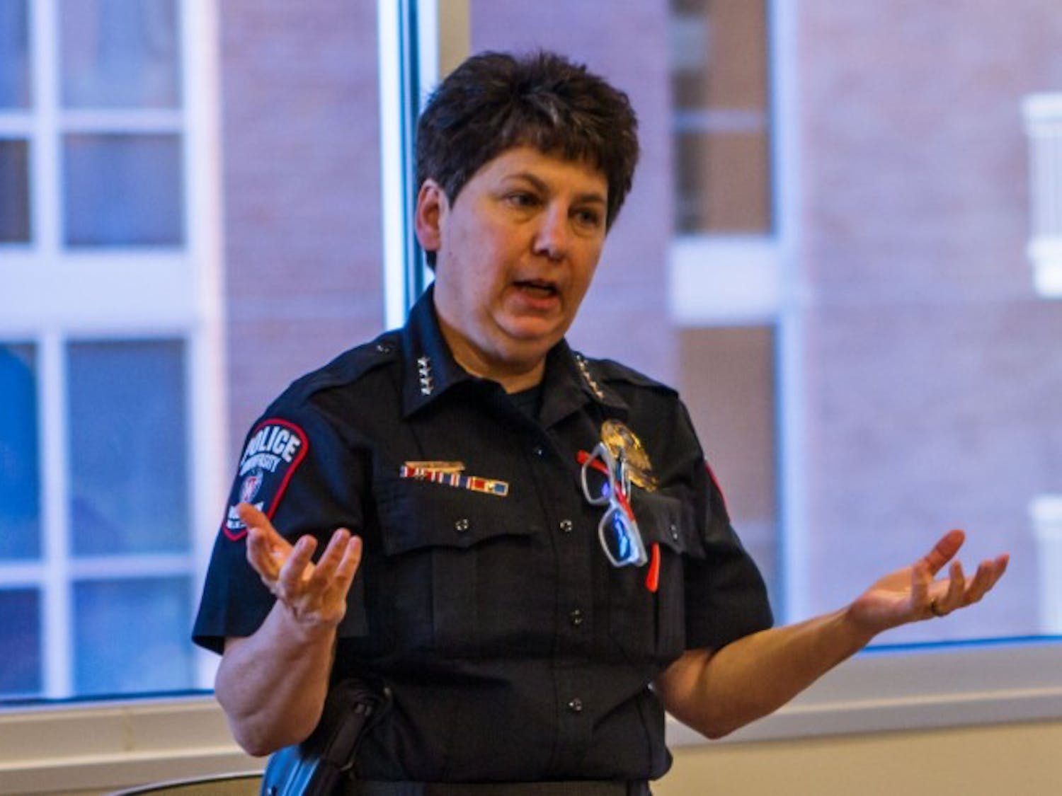 The University of Wisconsin Police Department has recently come out against campus concealed carry.