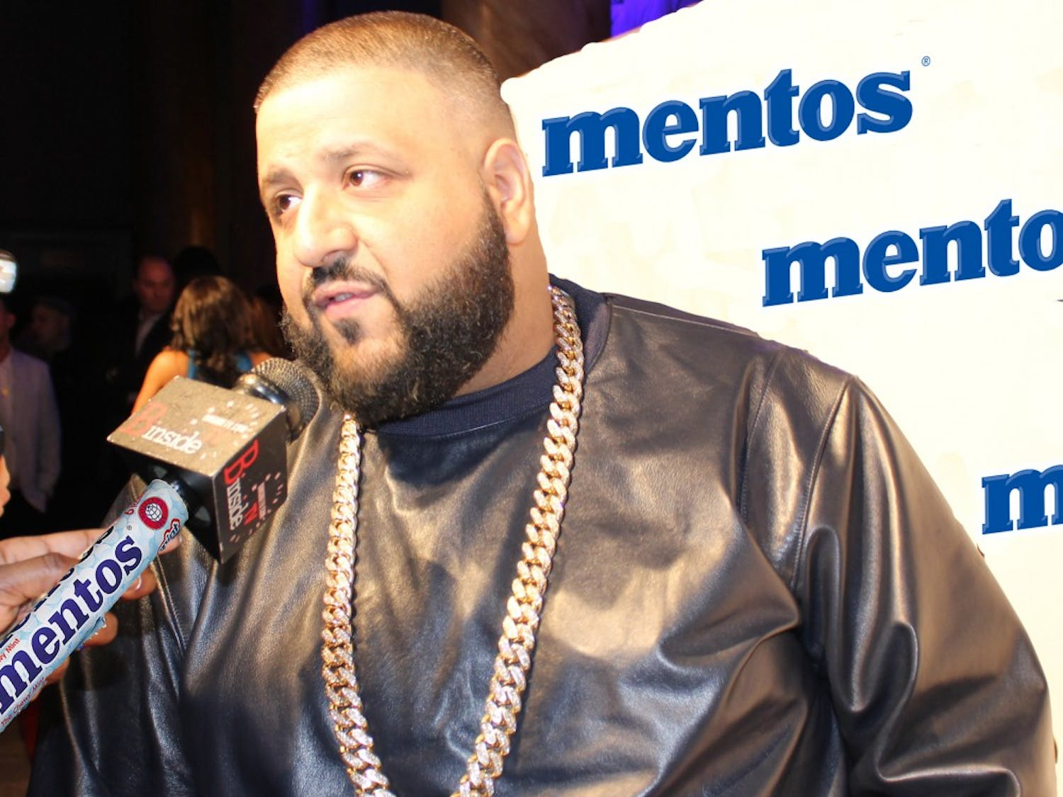 DJ Khaled alledgely swallowed 24 cases of Mentos throughout October.