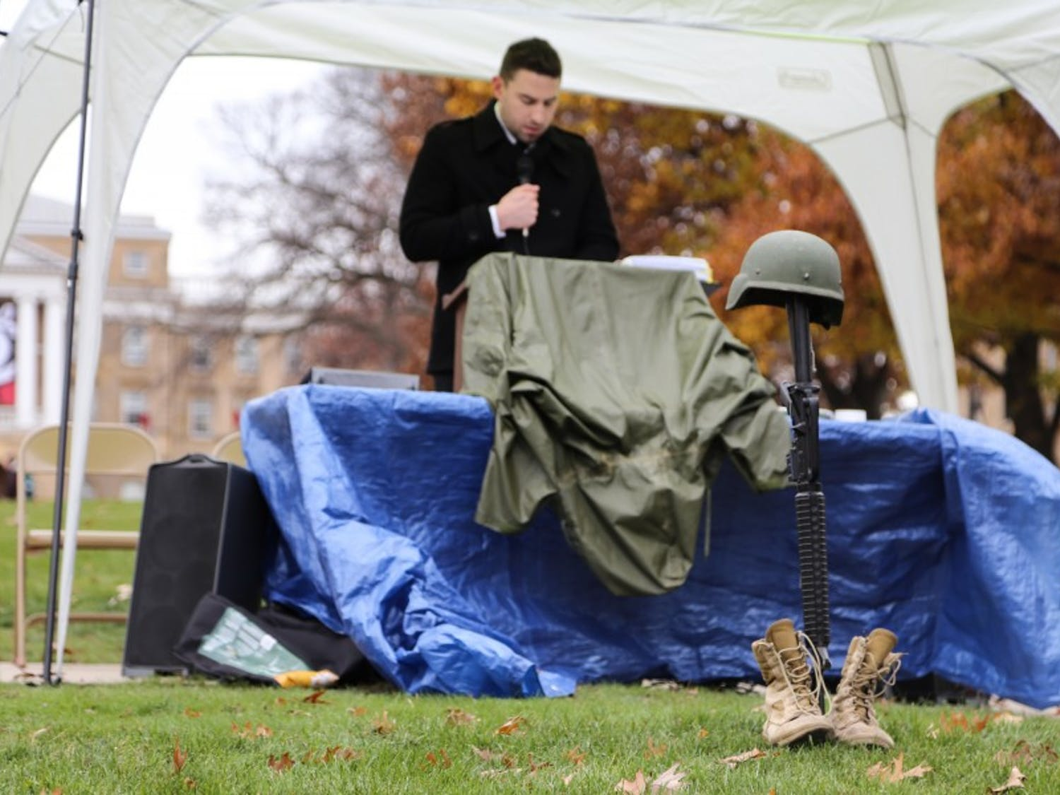 UW-Madison celebrates Veterans Day with a variety of events around campus.