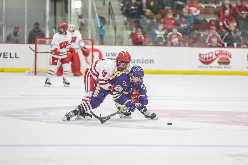 Abby Roque scored an important goal against Minnesota-Duluth, but her energy on-ice was more important for Wisconsin.