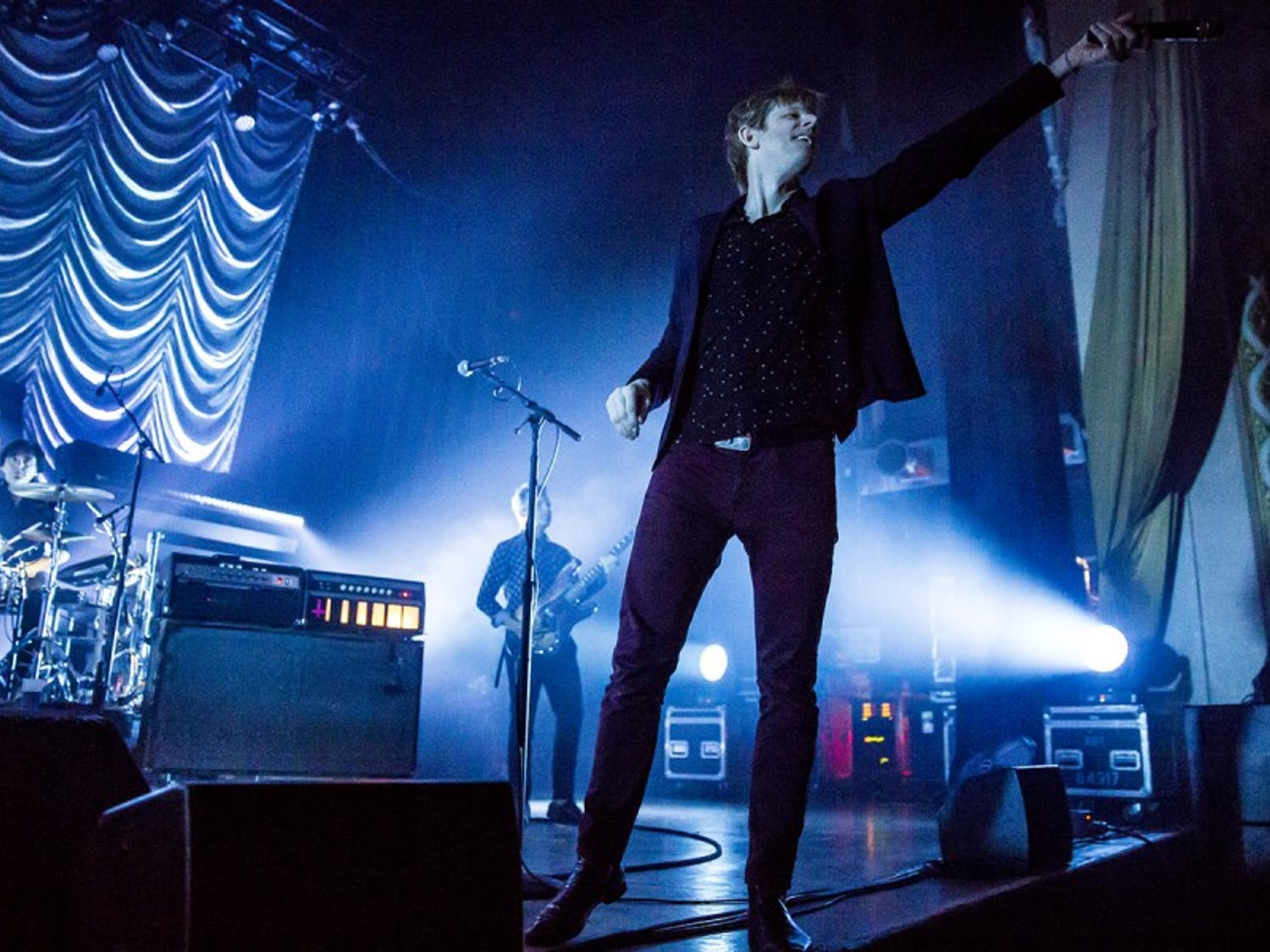 Spoon frontman Britt Daniel played both old and new fan-favorite songs at the Orpheum on Thursday.