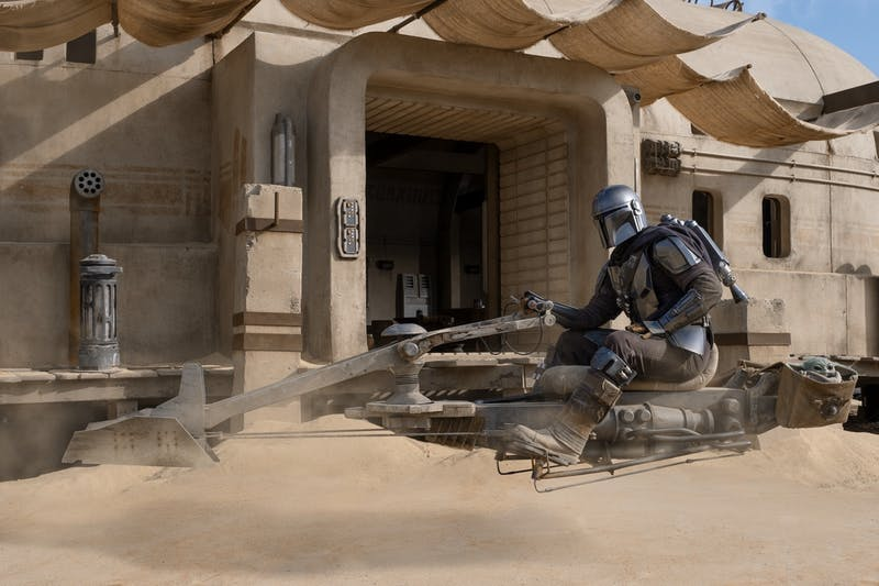 "Pedro Pascal returns as the Mandalorian in a new season of ""The Mandalorian,"" set to drop October 30."
