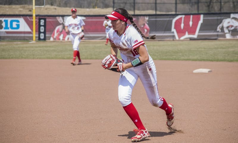 Infielder Stephanie Lombardo is one of three Illinois Chill alumni in the Badgers' top-five hitters by OPS, powering a best-ever offensive start for the team in 2019.