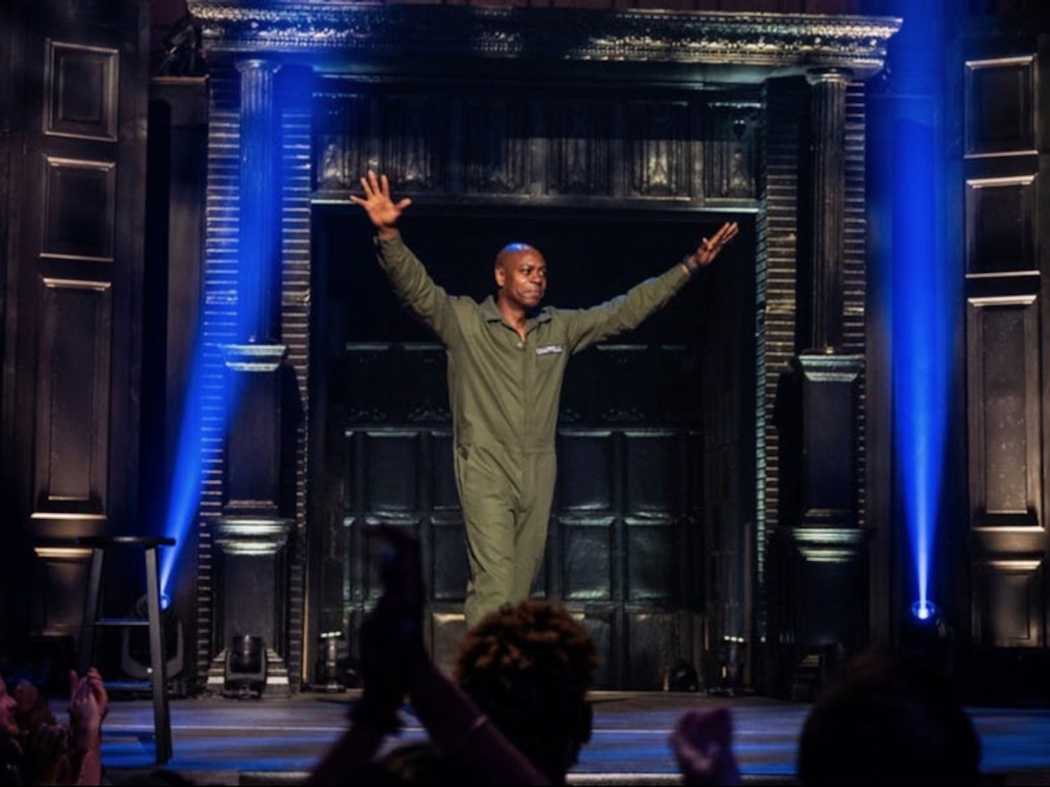 Chappelle has filmed a total of five stand-up specials released by Netflix.