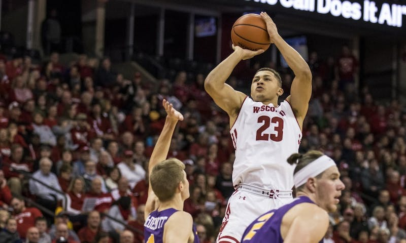 Kobe King, who scored 18 points and added six rebounds in UW's 65-52 win over Eastern Illinois, will be a vital part of Wisconsin's offense going forward.
