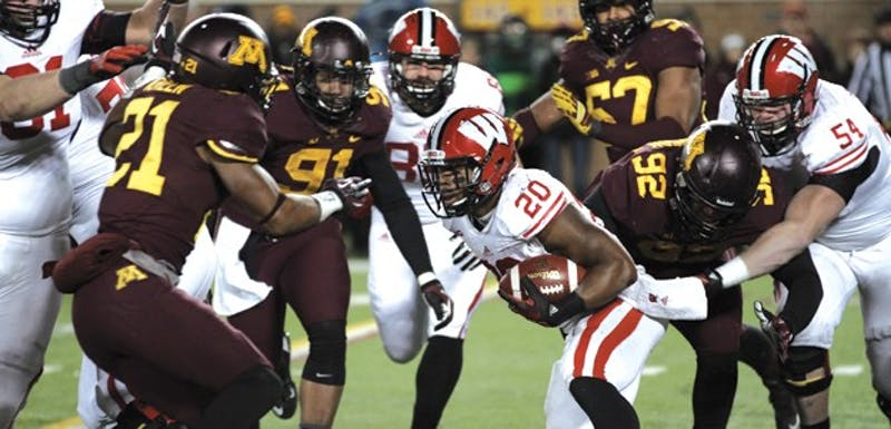 Senior running back James White won his fourth straight game against Minnesota Saturday.