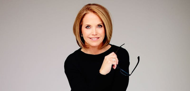 Katie Couric, who was a host on major TV news networks like ABC, NBC and CBS for more than 25 years, will be the 2015 spring commencement speaker.