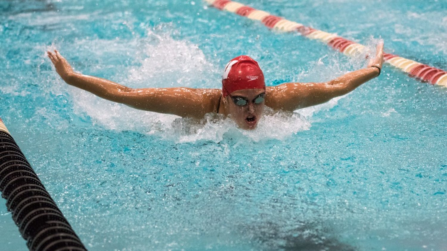 Beata Nelson had a record-setting performance in the Big Ten Championships.