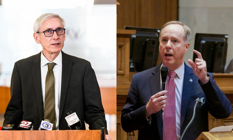 Republican Assembly Speaker Robin Vos also outlined his priorities Tuesday but did not introduce specific bills. Republicans have repeatedly challenged Evers' response to the pandemic and the legislature has not passed relief since April.