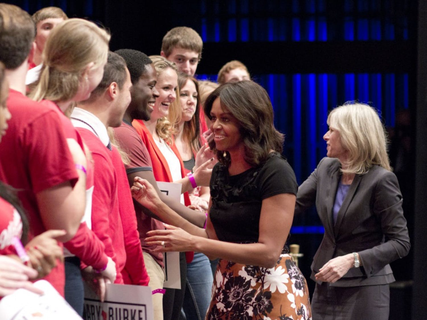 Michelle Obama Visits the Overture Center