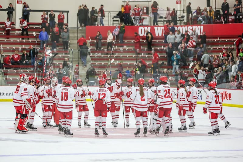 Wisconsin skated by St. Cloud easily this weekend, winning by a combined score of 16-1.