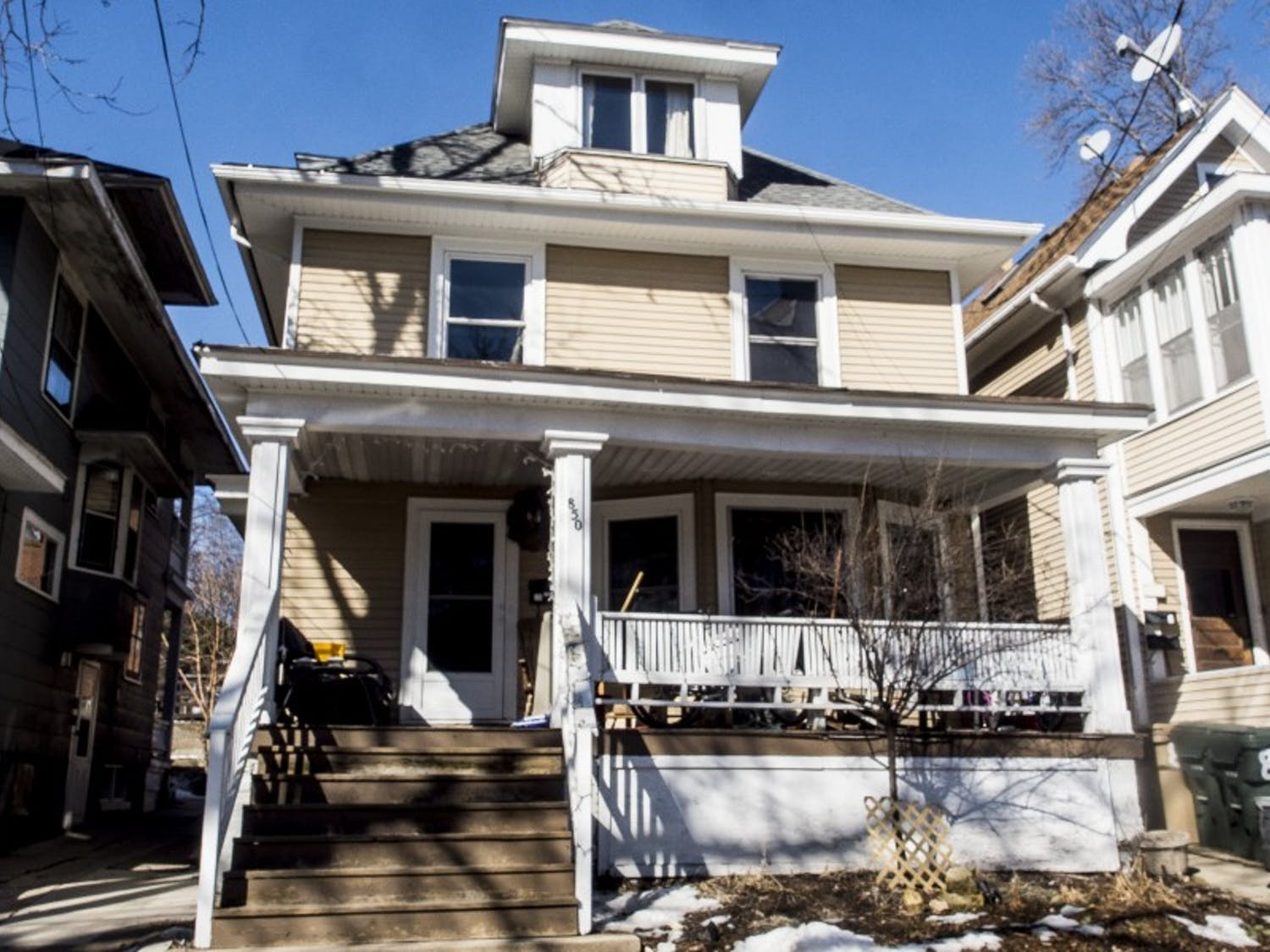 Aaron's Houseis one of three private sober-living houses near the UW-Madison campus and offers ahome to five students that go to school in the Madison area.